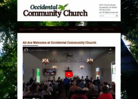 occidentalcommunitychurch.org
