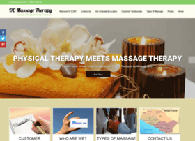 ocmassagetherapy.com