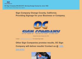 ocsigncompany.com