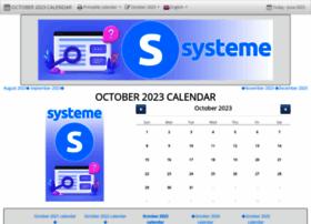 october-calendar.com