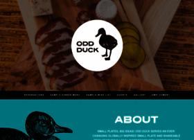 oddduckrestaurant.com