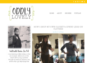 oddlylovely.com