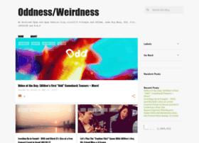 oddnessweirdness.blogspot.com