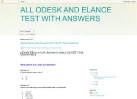 odesk-elance-test.blogspot.com
