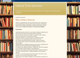 odesk-test-answer.blogspot.com