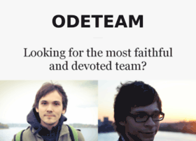 odeteam.com