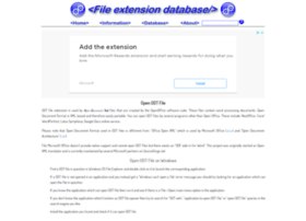 Odt.extensionfile.net
