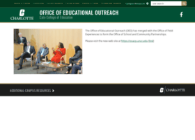 oeo.uncc.edu