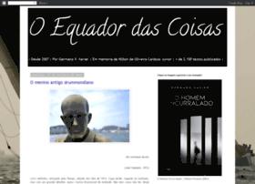 oequadordascoisas.blogspot.com