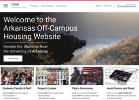 offcampushousing.uark.edu
