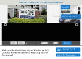 offcampushousing.uky.edu
