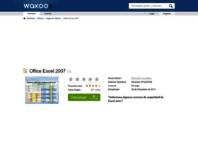 office-excel-2007.waxoo.com