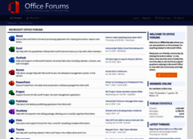 office-forums.com