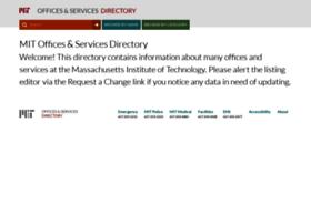 officesdirectory.mit.edu