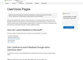 officespdev.uservoice.com