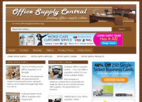 officesupplycentral.org
