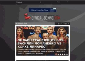 official-boxing.com