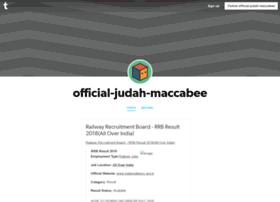 official-judah-maccabee.tumblr.com