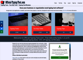 official-typing-test.com