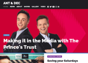 officialantanddec.com