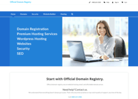 officialdomainregistry.com