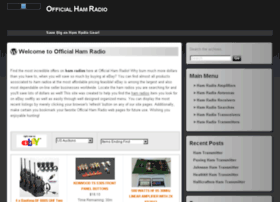 officialhamradio.com