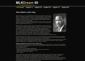 officialmlkdream50.com