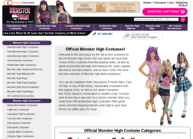 officialmonsterhighcostumes.com