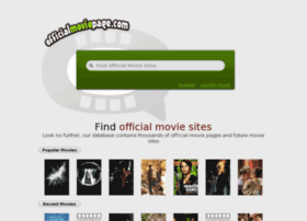 officialmoviepage.com