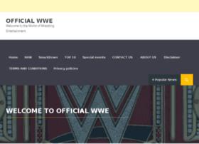 officialwwe.com