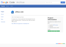 offline-wiki.googlecode.com