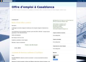 offre-emploi-casablanca.blogspot.com