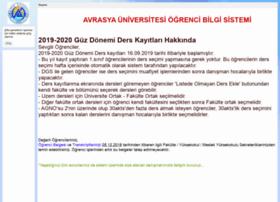 ogrenci.avrasya.edu.tr
