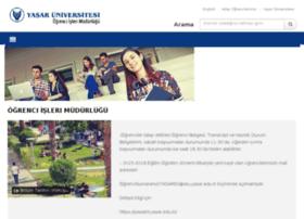 ogrenciisleri.yasar.edu.tr
