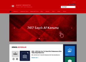 ogrisl.baskent.edu.tr