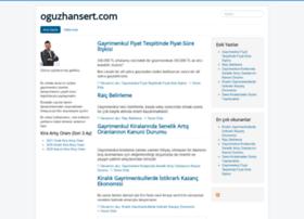 oguzhansert.com