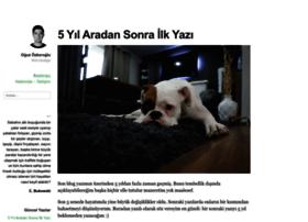 oguzozkeroglu.com