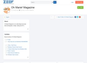 oh-marie-magazine.zeef.com