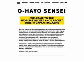 ohayosensei.com