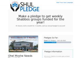 ohelmoshe.shulpledge.com