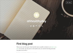 ohhealthyday.wordpress.com