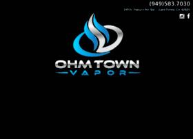 ohmtownvapor.com