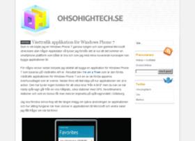 ohsohightech.se