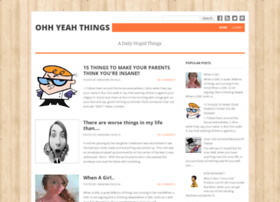 ohyeahthings.blogspot.in