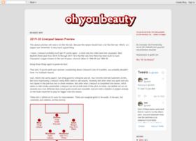 ohyoubeauty.blogspot.com
