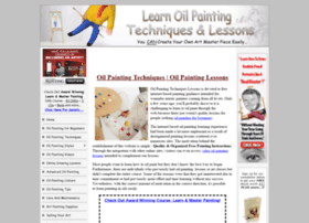 oilpaintingtechniqueslessons.com