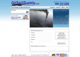 oilspillsupply.com