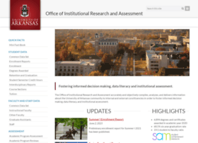 oir.uark.edu