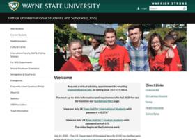 oiss.wayne.edu