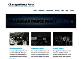 okanagandanceparty.com
